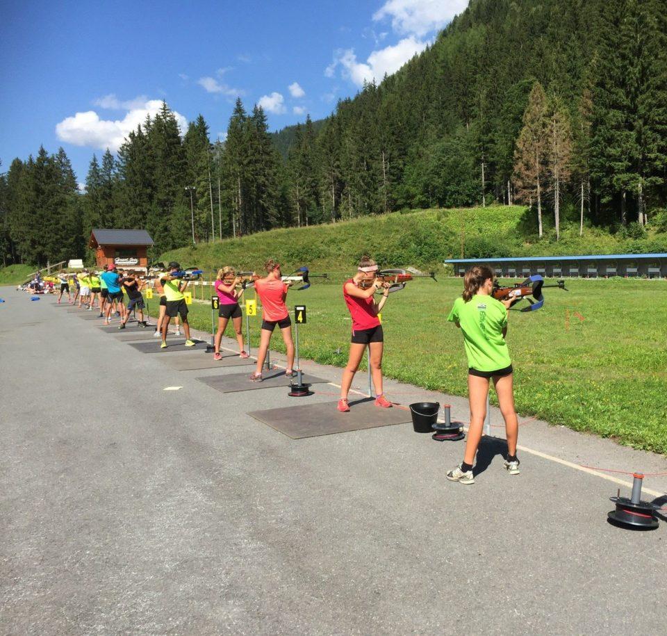 Biathlon en basket - Tir