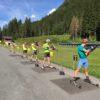Biathlon - Tir et ski roue