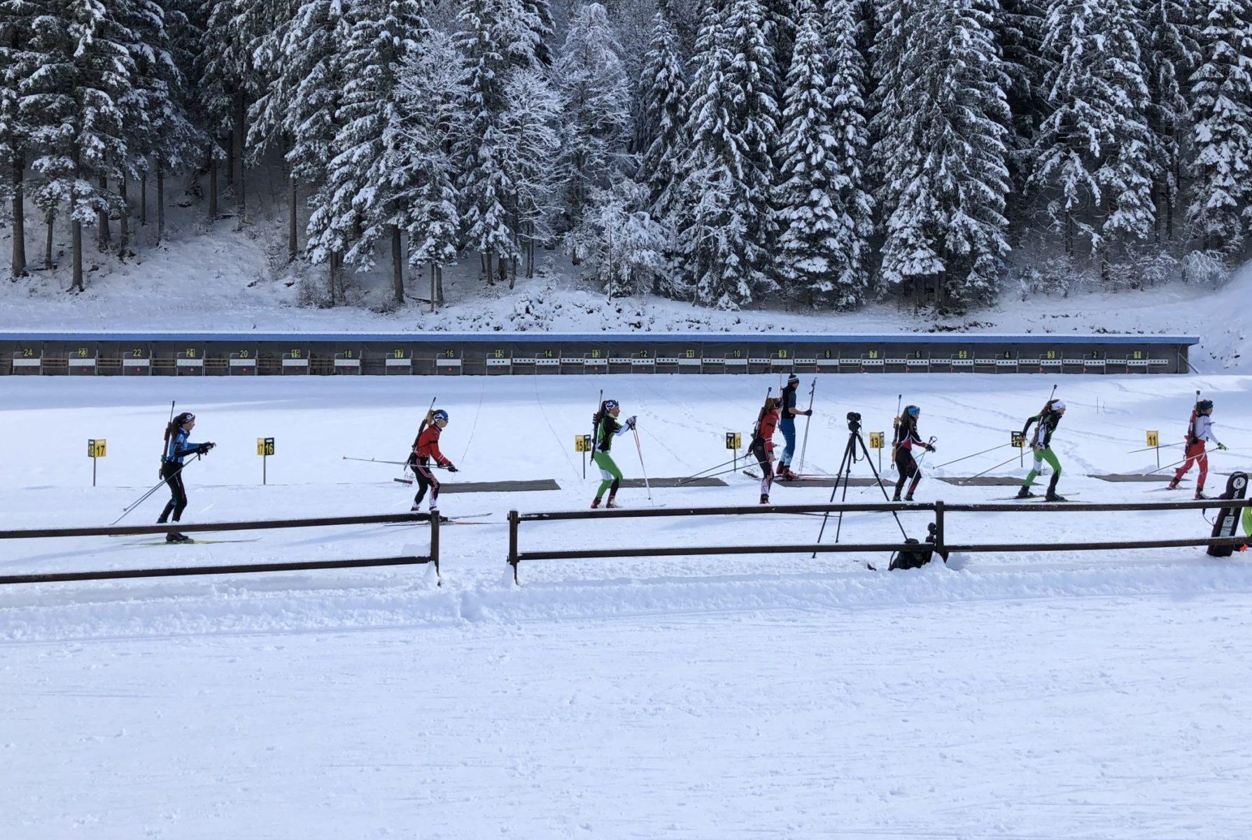 Biathlon hiver - Ski de fond